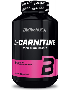 Жиросжигатель L-Carnitine 1000 mg 60 tab. Biotech USA