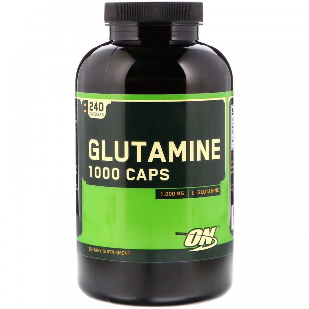 Glutamine 1000 240 caps. Optimum Nutrition – «СпортМеню»