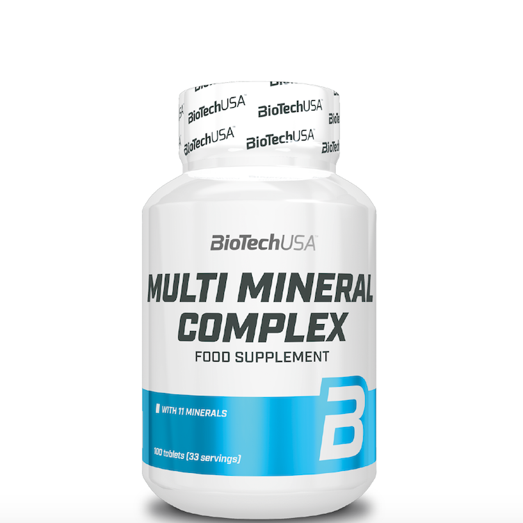 Multimineral Complex 100 tabs. BioTech – «СпортМеню»