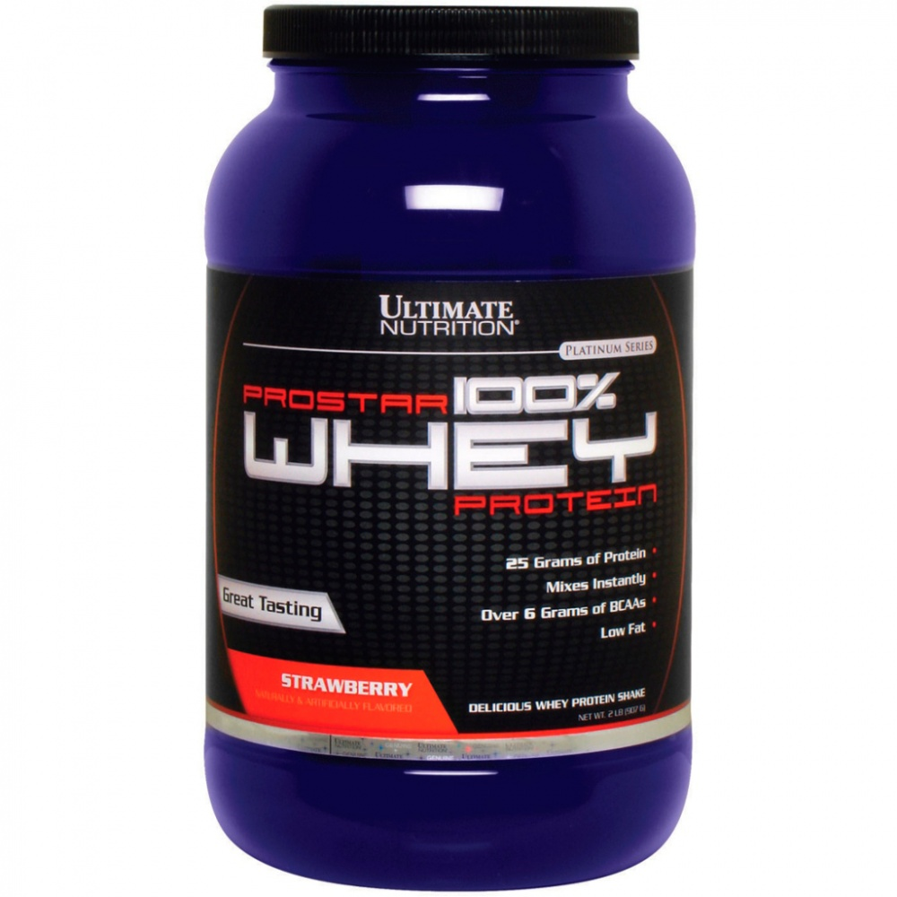 Протеин Prostar Whey 908 g. Ultimate Nutrition – «СпортМеню»