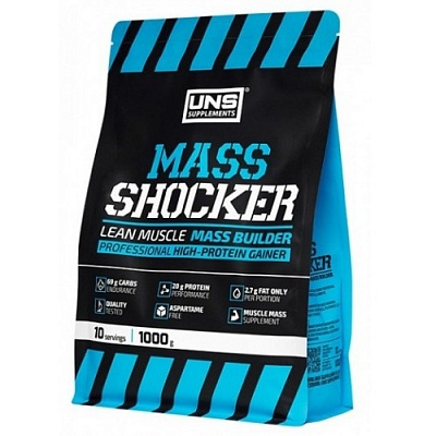 Гейнер Mass Shocker 1000 g. UNS