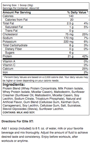 Elite_XT_Protein_Supplement_Facts.png