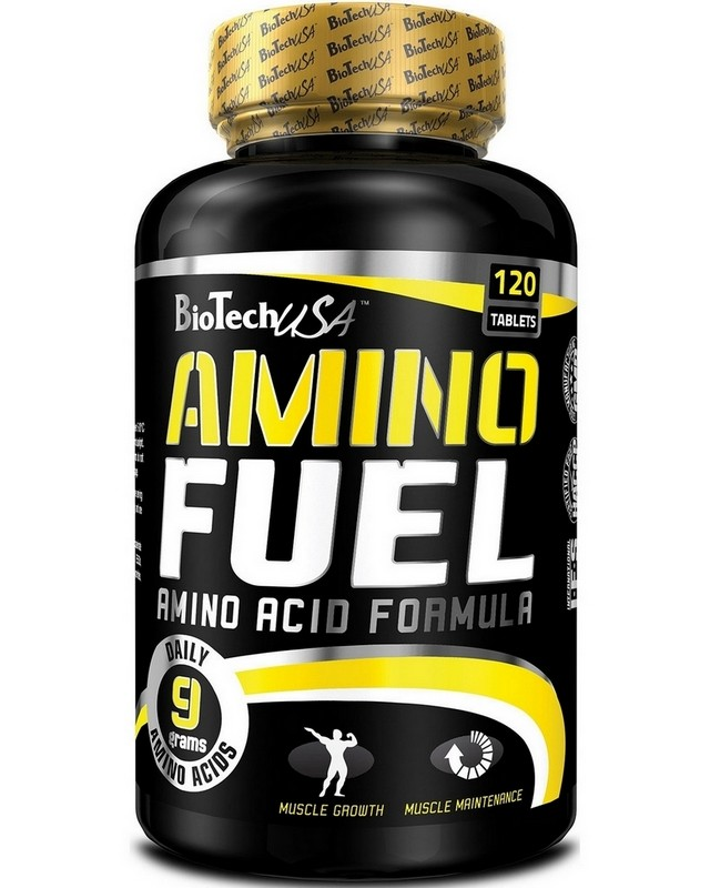Аминокислоты Amino Fuel 120 caps. Biotech USA – «СпортМеню»