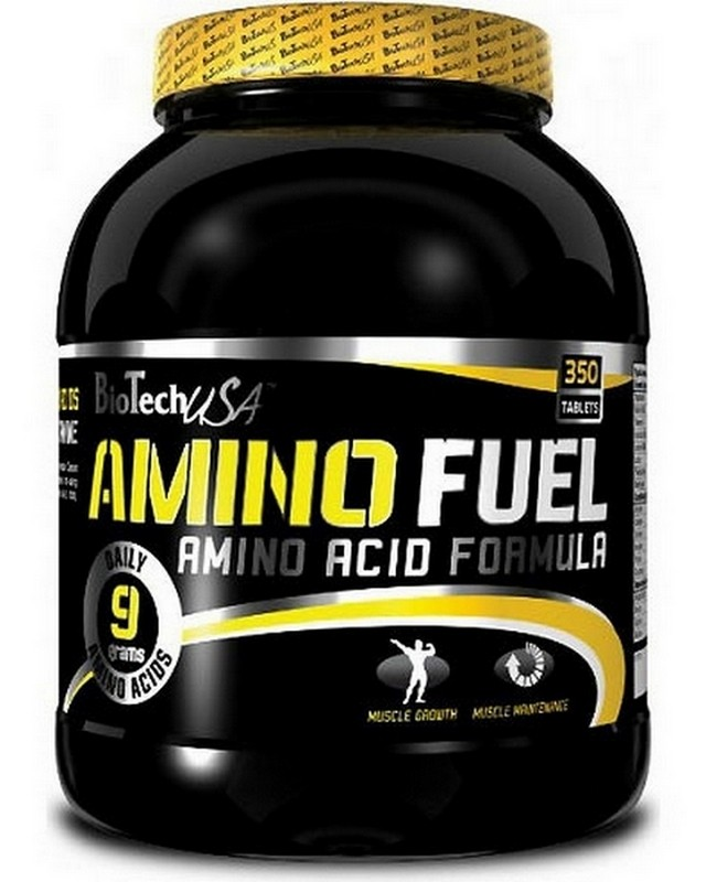 Аминокислоты Amino Fuel 350 caps. Biotech USA – «СпортМеню»