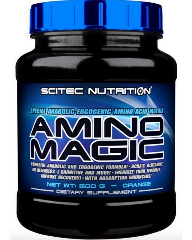 Аминокислоты Amino Magic 500 g. Scitec Nutrition – «СпортМеню»