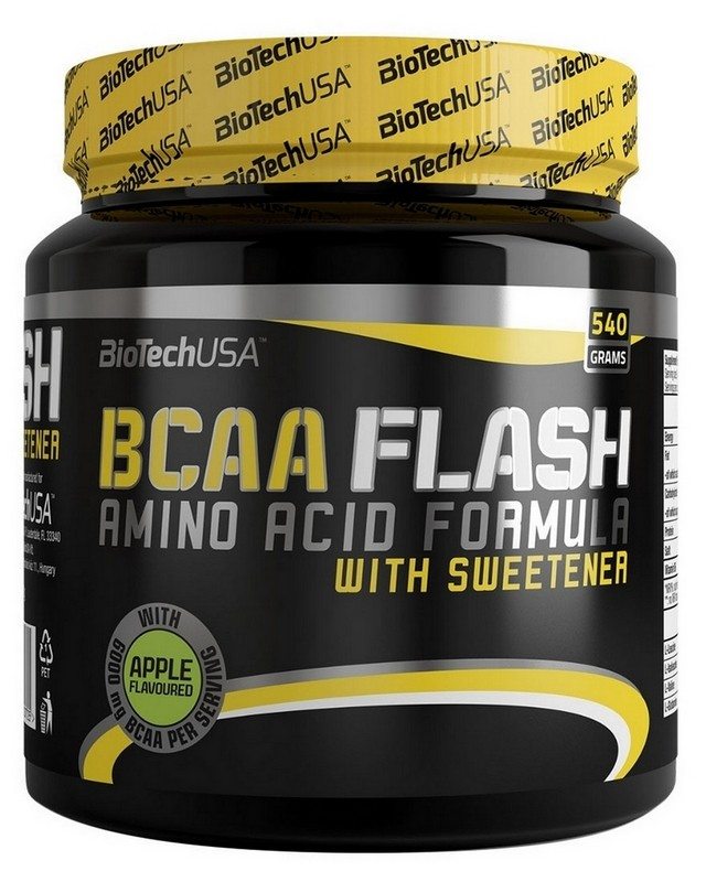 Аминокислоты BCAA Flash 540 g. Biotech USA – «СпортМеню»