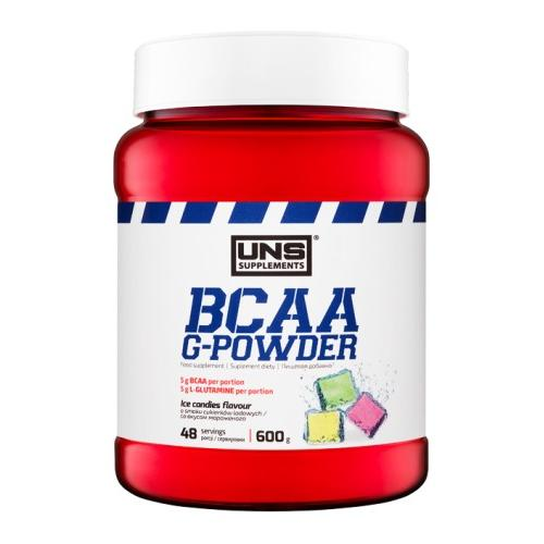 Аминокислоты BCAA G-Powder 600 g. UNS – «СпортМеню»