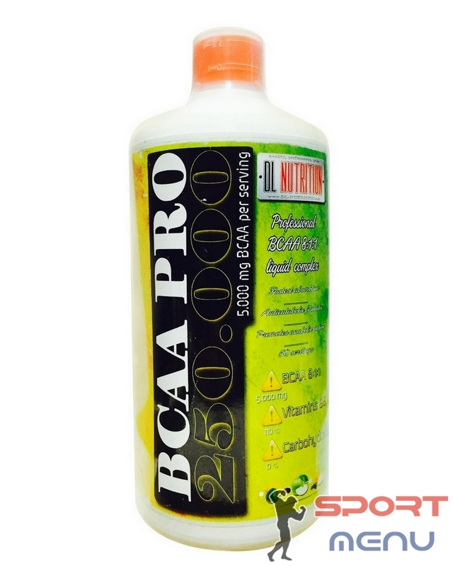 Аминокислоты BCAA PRO 250.000 1000 ml. DL Nutrition – «СпортМеню»