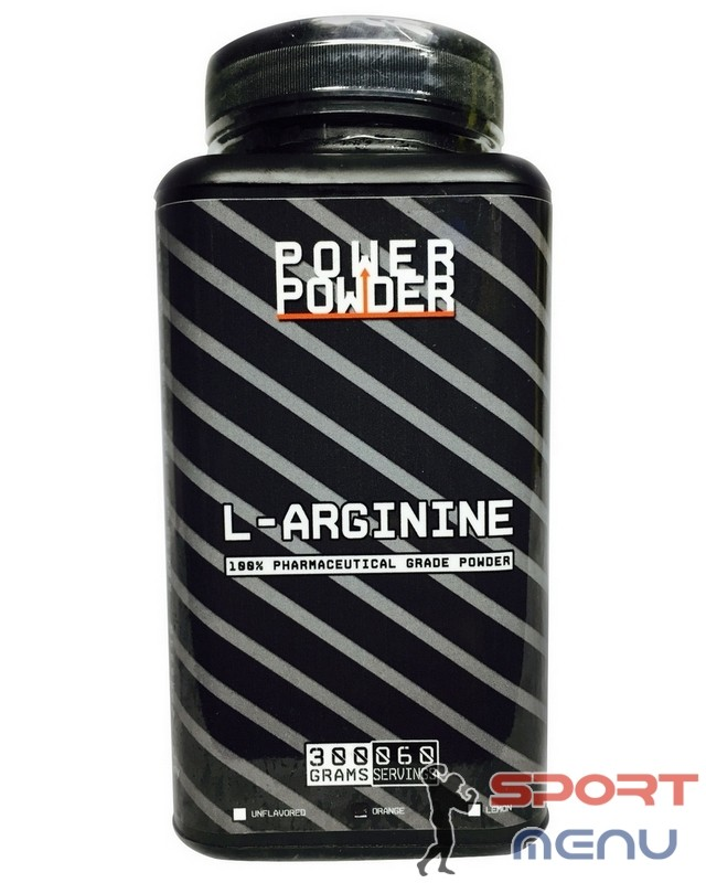 Аргинин L-Arginine 300 g. Power Powder – «СпортМеню»