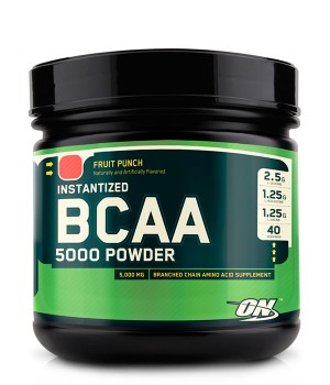 BCAA 5000 Powder 380 g. Optimum Nutrition – «СпортМеню»
