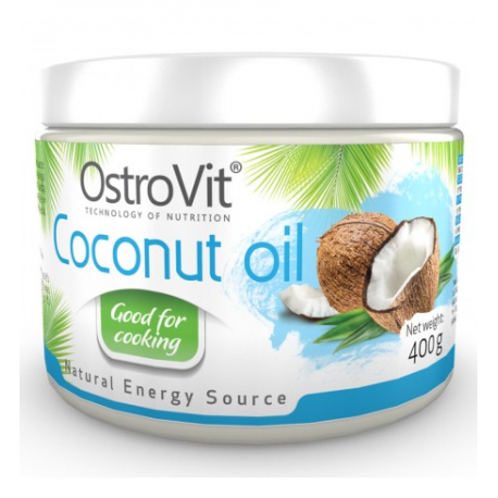 Coconut Oil 400 g. Ostrovit – «СпортМеню»