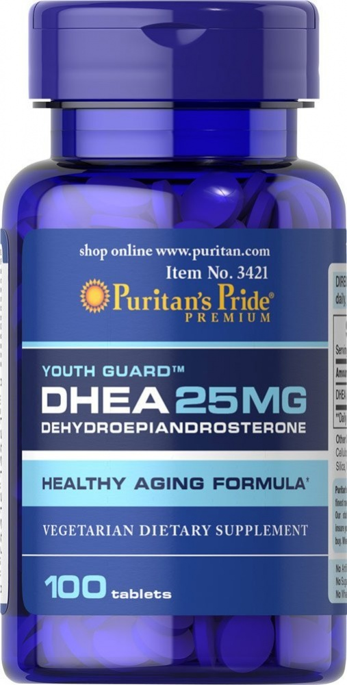 DHEA 25 100 tab. Puritain's Pride – «СпортМеню»
