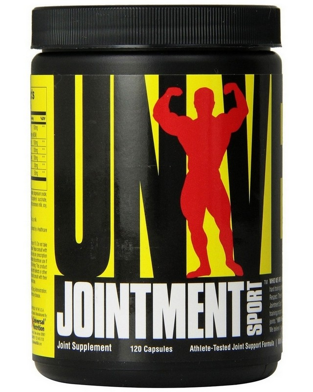 Для суставов и cвязок Jointment Sport 120 caps. Universal Nutrition – «СпортМеню»
