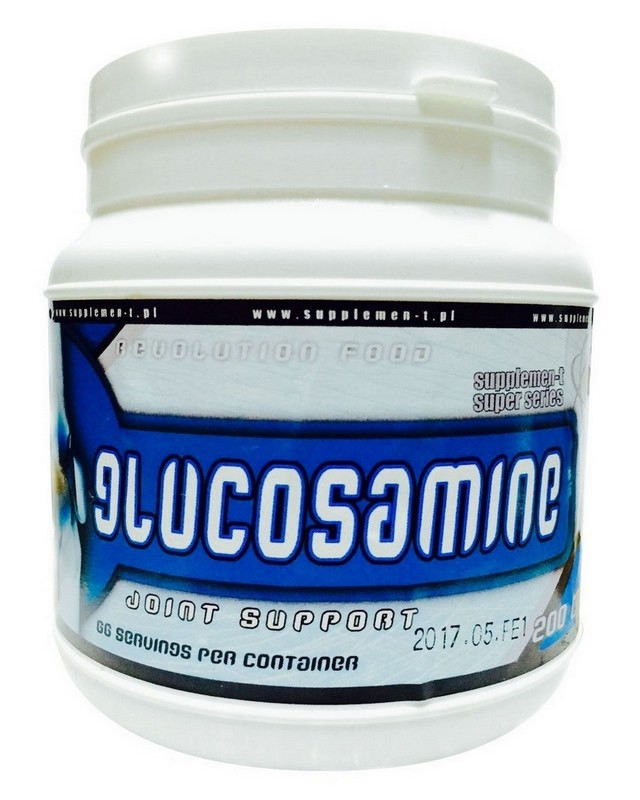Для суставов и связок Glucosamine 200 caps. Supplemen-t Super Series – «СпортМеню»