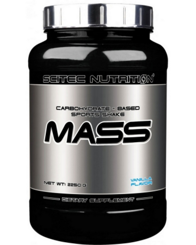 Гейнер Mass 2250 g. Scitec Nutrition – «СпортМеню»