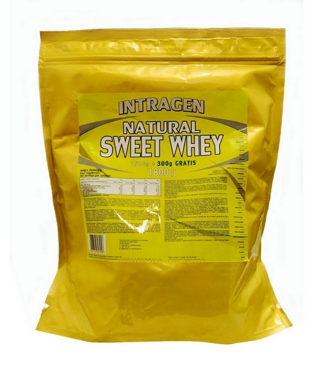 Гейнер Natural Sweet Whey 1800 g. Intragen – «СпортМеню»
