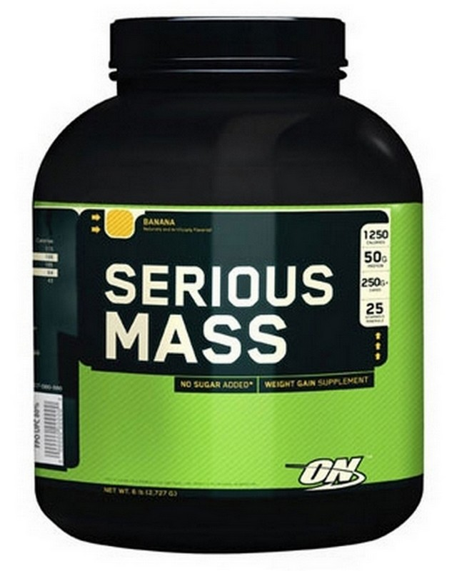 Гейнер Serious Mass 2720 g. Optimum Nutrition – «СпортМеню»