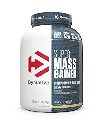 Гейнер Super Mass Gainer 2720 g. Dymatize – «СпортМеню»