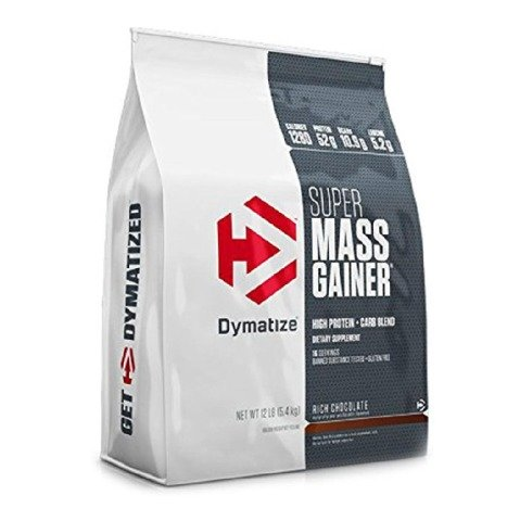 Гейнер Super Mass Gainer 5450 g. Dymatize – «СпортМеню»