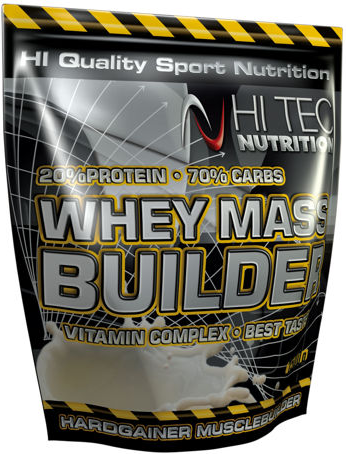 Гейнер Whey Mass Builder 3000 g. Hi-Tec Nutrition – «СпортМеню»