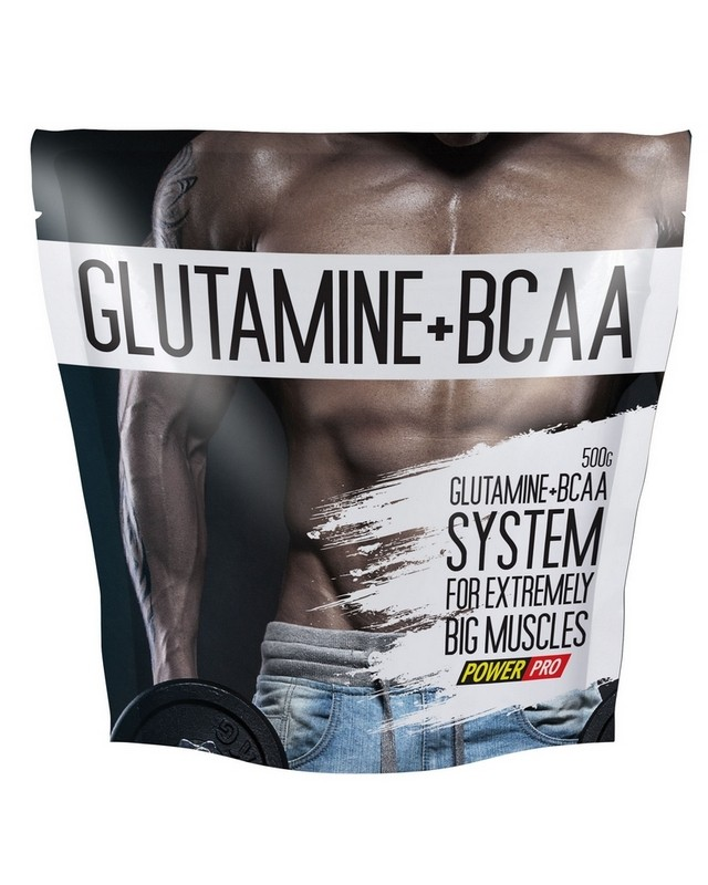 Glutamine+BCAA 500 g. Power Pro – «СпортМеню»