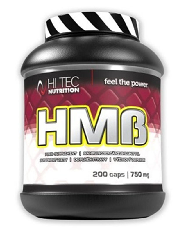 HMB 750 mg 200 cap. Hi-Tec Nutrition – «СпортМеню»