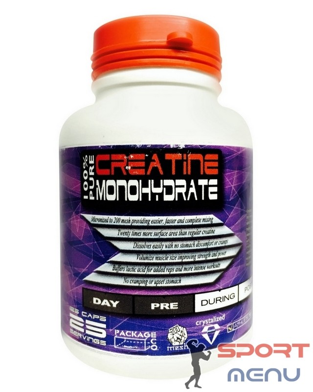 Креатин Creatine 125 caps. DL Nutrition – «СпортМеню»