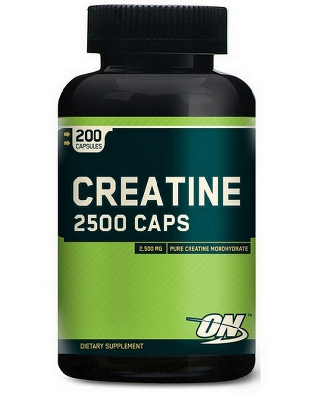 Креатин Creatine 2500 200 caps. Optimum Nutrition – «СпортМеню»