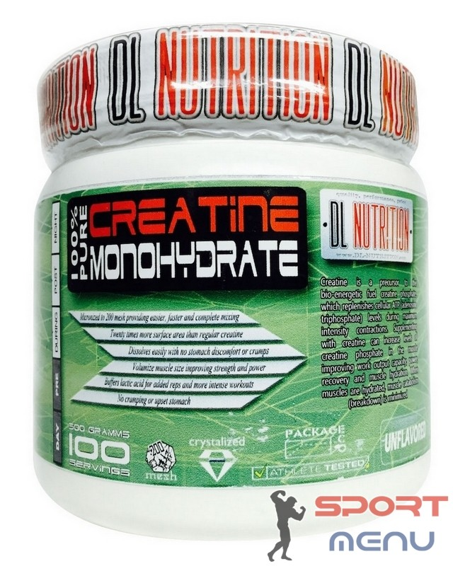 Креатин Creatine 300 g. Dl Nutrition – «СпортМеню»