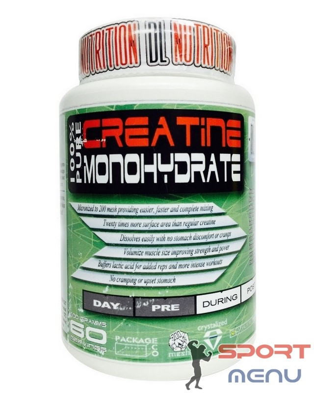 Креатин Creatine 500 g. Dl Nutrition – «СпортМеню»