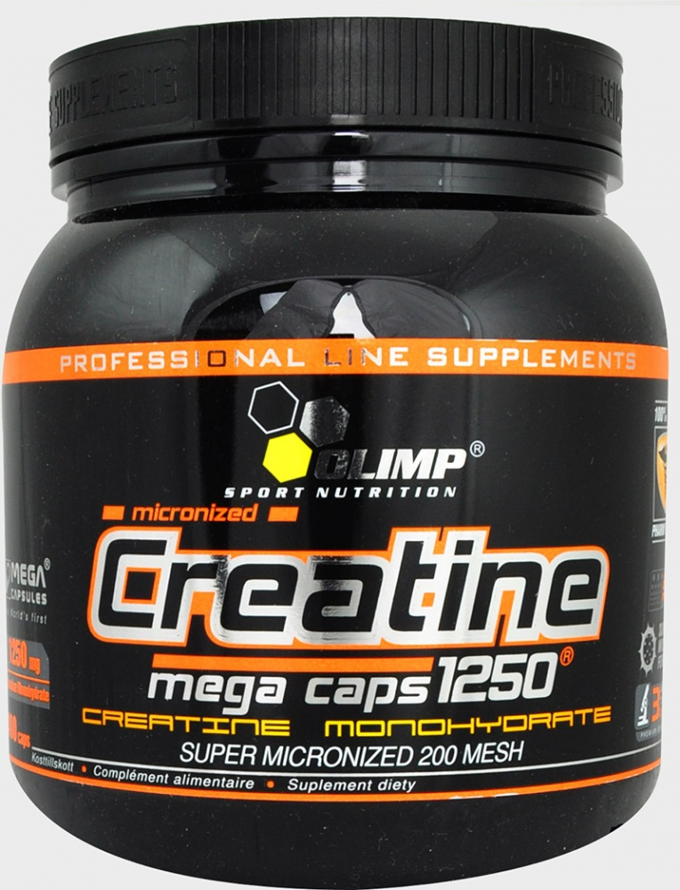 Креатин Creatine Mega Caps 400 caps. Olimp – «СпортМеню»