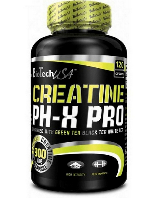 Креатин Creatine pHX 210 caps. Biotech USA – «СпортМеню»