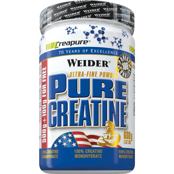 Креатин Pure Creatine 600 g.  Weider – «СпортМеню»