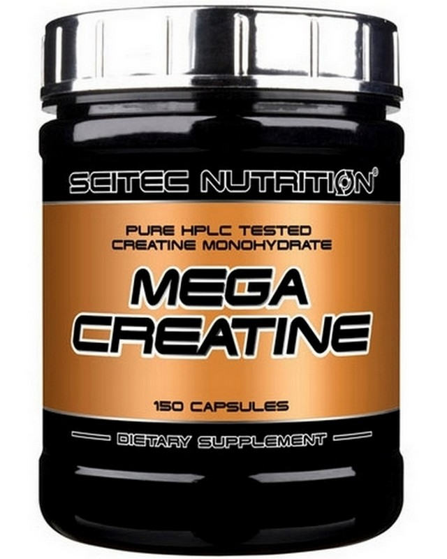 Mega Creatine 150 caps. Scitec Nutrition – «СпортМеню»