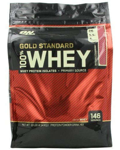 Протеин 100% Whey Gold Standard Protein 4500 g. Optimum Nutrition – «СпортМеню»