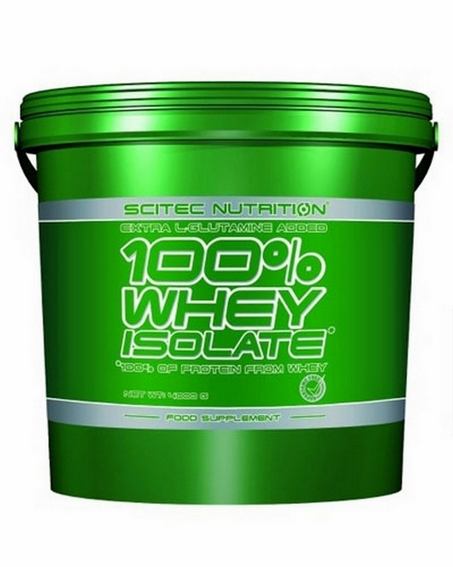 Протеин 100% Whey Isolate 4000g. Scitec Nutrition – «СпортМеню»