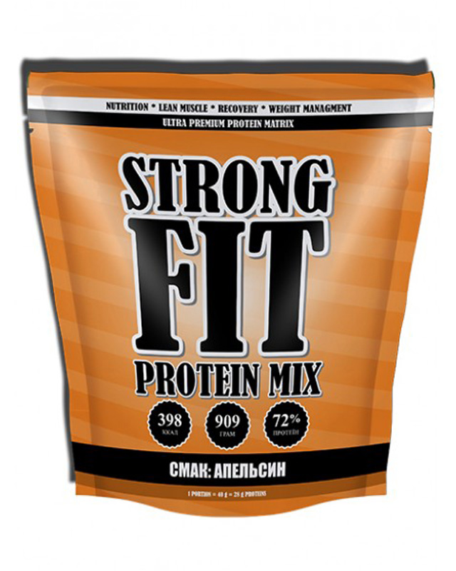 Протеин Protein Mix 909 g. Strong Fit – «СпортМеню»
