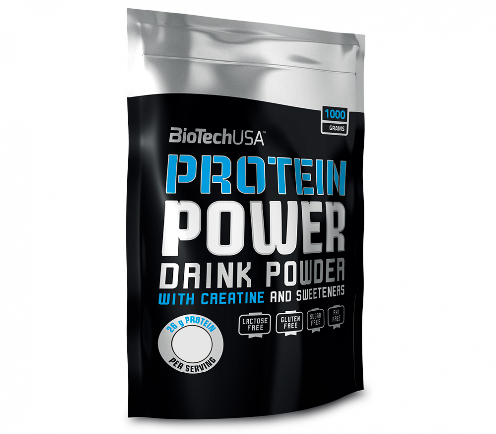 Протеин Protein Power 1000 g. Biotech USA – «СпортМеню»