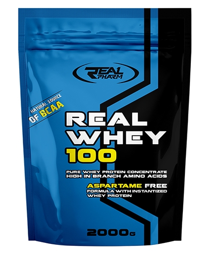 Протеин Whey 100 2000 g. Real Pharm – «СпортМеню»
