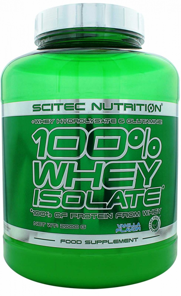 Протеин Whey Isolate 2000 g. Scitec Nutrition – «СпортМеню»