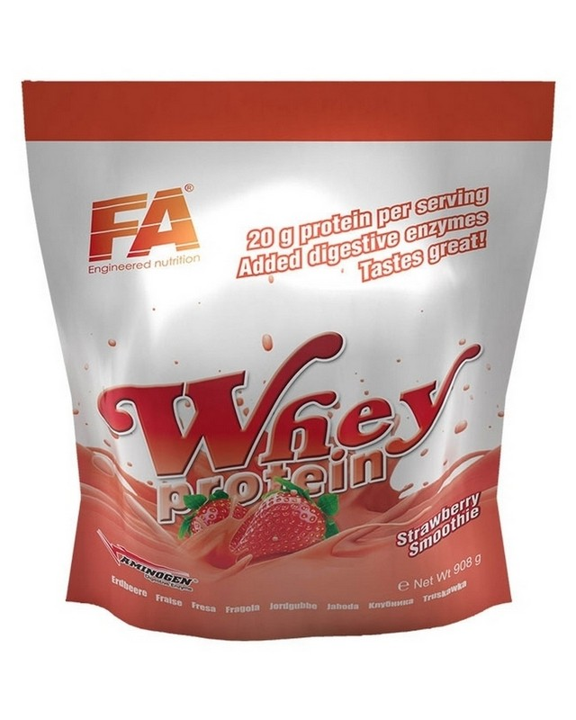 Протеин Whey Protein 908 g. Fitness Authority – «СпортМеню»
