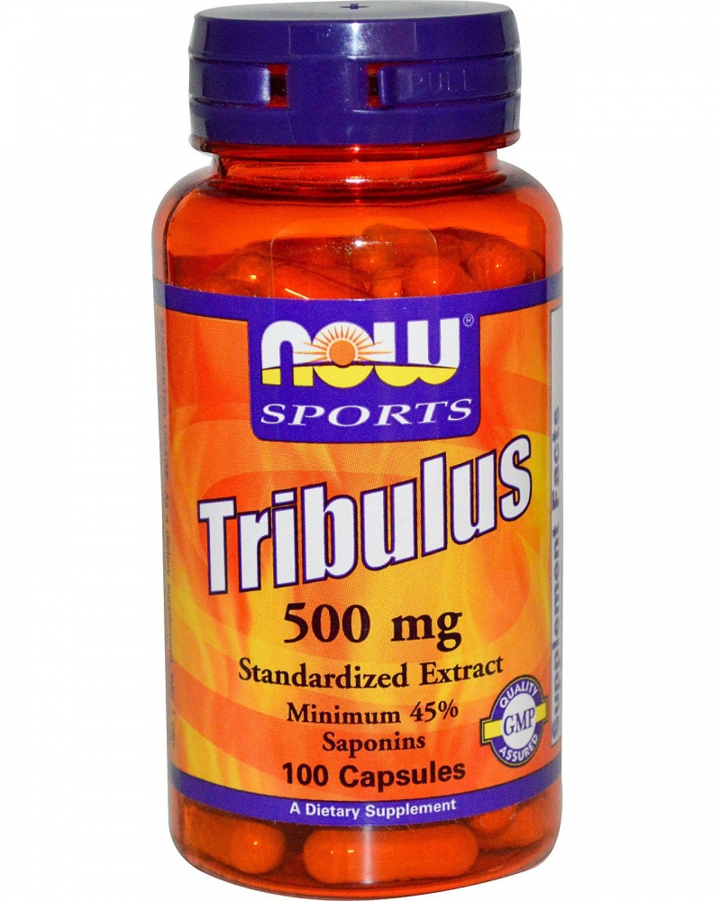 Tribulus  500mg 100 caps. NOW – «СпортМеню»