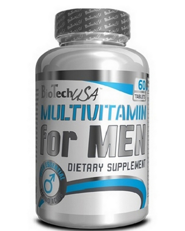 Витамины Multivitamin for Men 60 tabs Biotech – «СпортМеню»