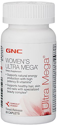 Витамины Womens Ultra Mega 28 caps. GNC – «СпортМеню»