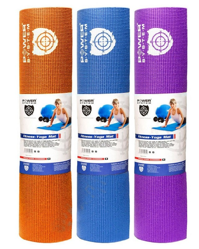 Йога-мат Fitness-Yoga Mat PS-4014 Power System – «СпортМеню»