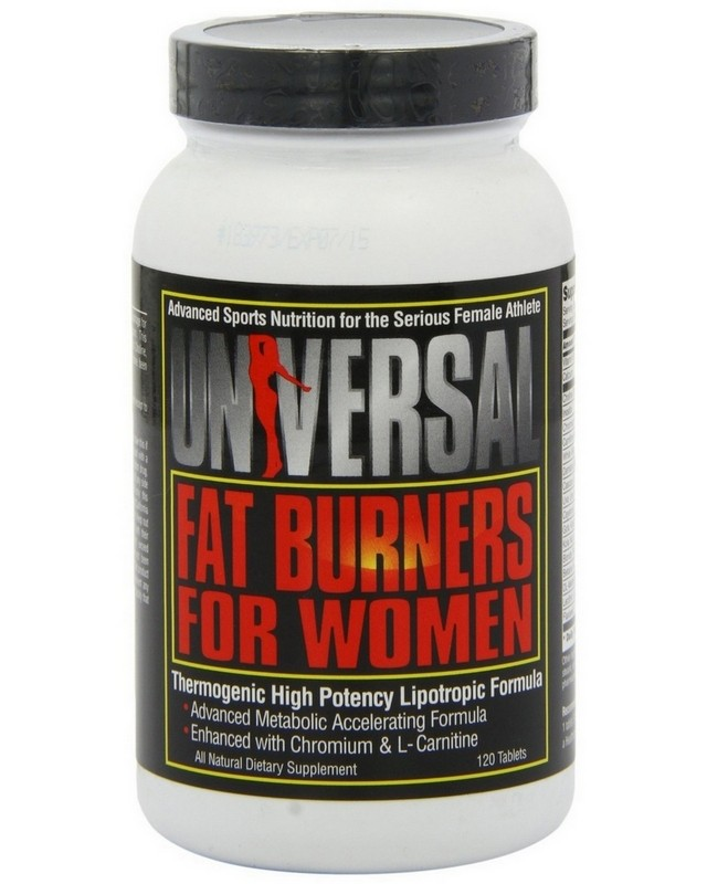 Жиросжигатель Fat Burners for Women 60 caps. Universal Nutrition – «СпортМеню»