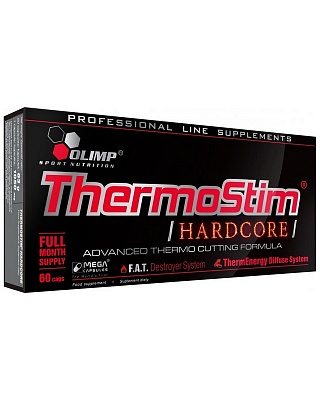 Жиросжигатель Thermo Stim Hardcore 60 caps. Olimp