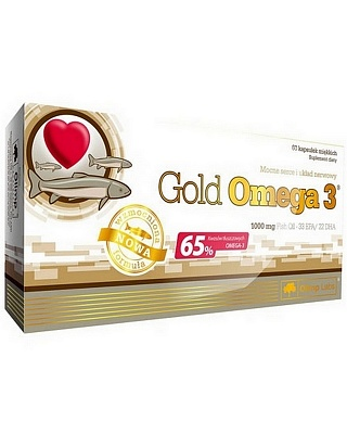 Gold Omega-3 65% 60 caps. Olimp