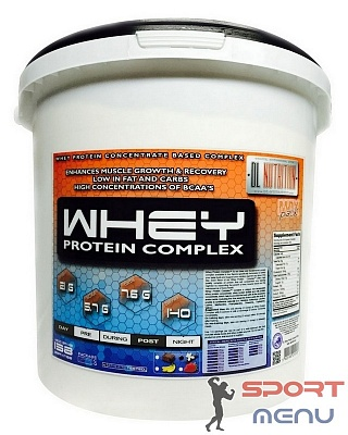 Протеин Whey Protein Complex 4500 g. Dl Nutrition