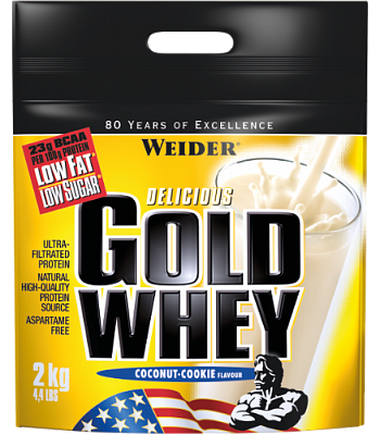 Протеин Gold Whey 2000 g.  Weider